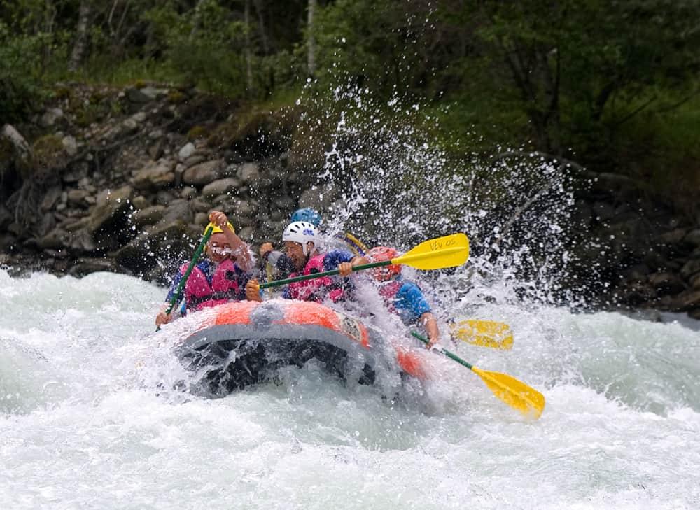 Rafting - P. Boulgakow - OT Les 2 Alpes