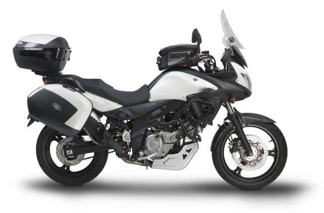 suzuki v strom 650 abs pronta per lunghi viaggi moto on the road viaggi in moto avventure. Black Bedroom Furniture Sets. Home Design Ideas