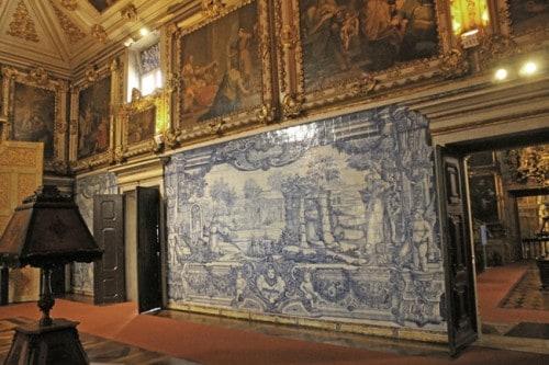 Una delle sale del Museo dell'Azuleio