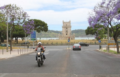 Belém: sullo sfondo l'omonima torre