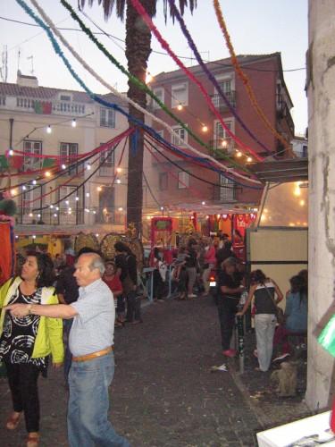 La festa di Sant'Antonio che si svolge nel mese di giugno nell'Alfama