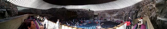 1.83 rock church, Helsinky