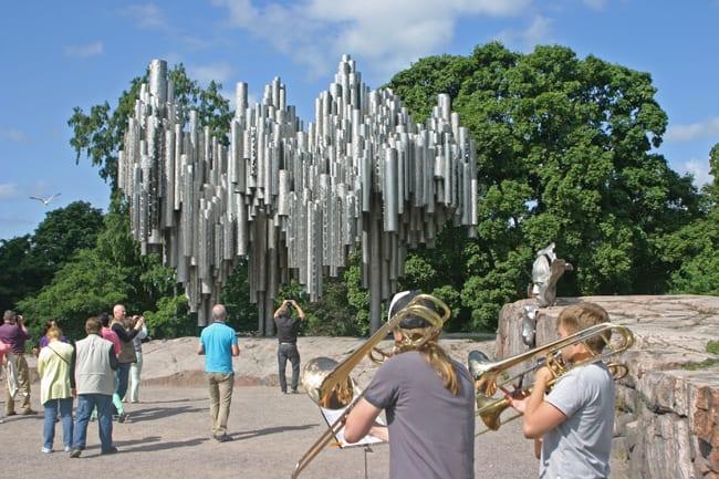 1.9 monumemto a Sibelius a Helsinki