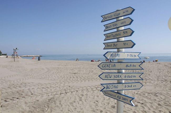 spiaggia Isamar