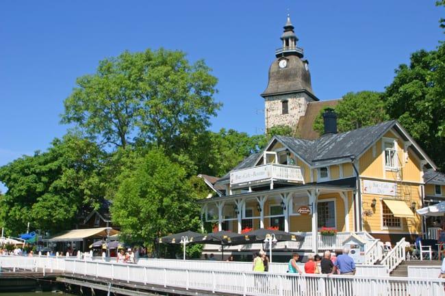 3.2 Naantali, a ovest di Turku, l'ingresso del parco dei Mumin