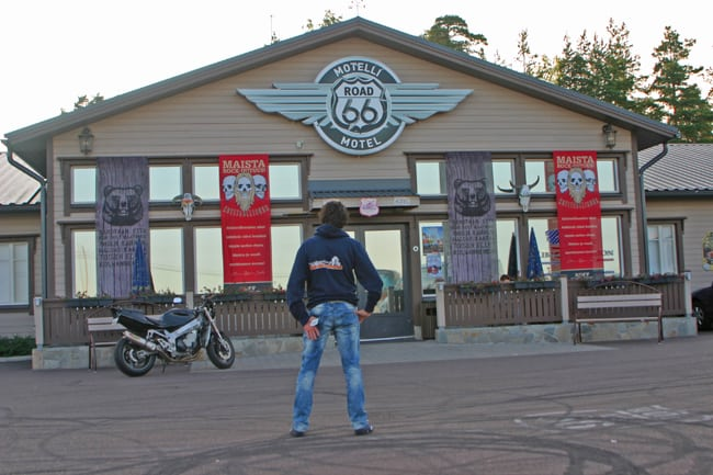 6.11 Kotka, il route 66 bikers motel