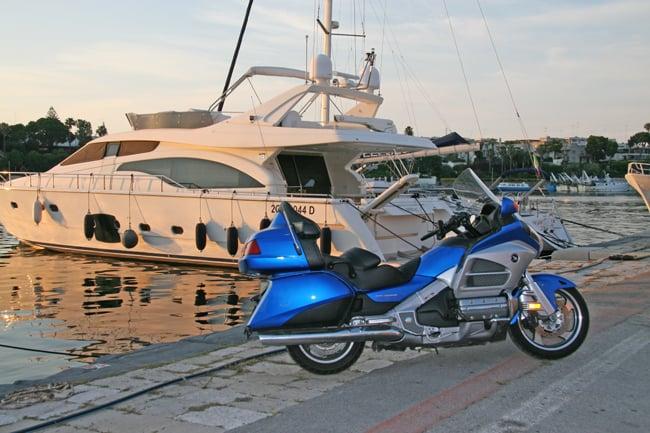 Moto da viaggio: Honda Goldwing GL 1800