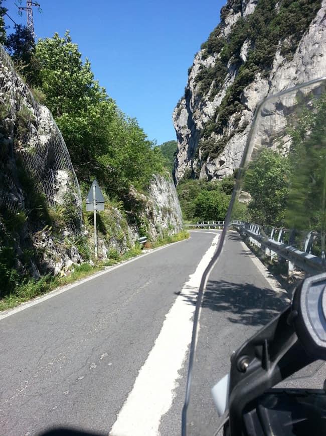 Sulla strada per Gubbio