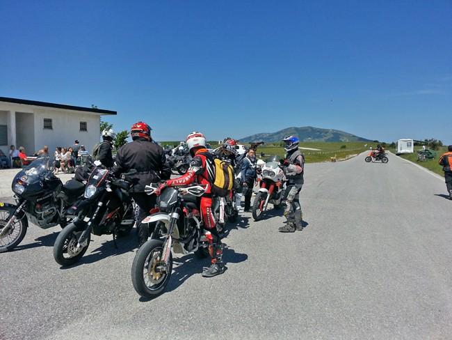 La tappa di Monte Perrone