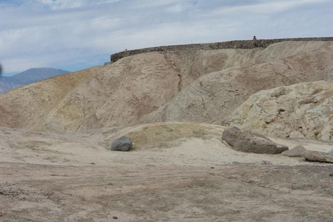 Zabriskie point Dead valley