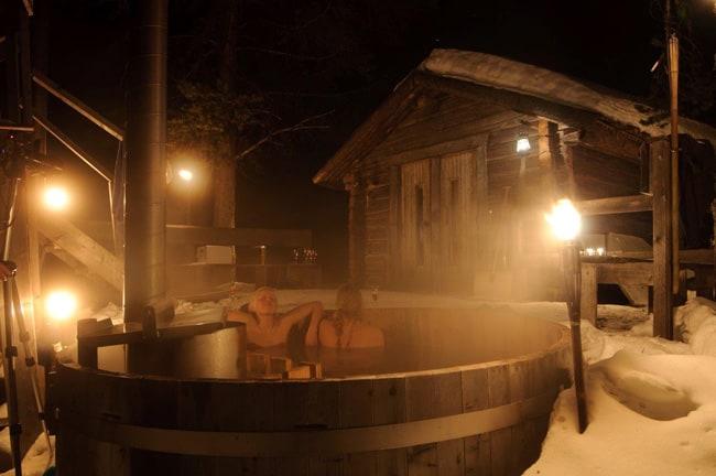 tinozze bagno caldo_Svansele_Lapponia svedese