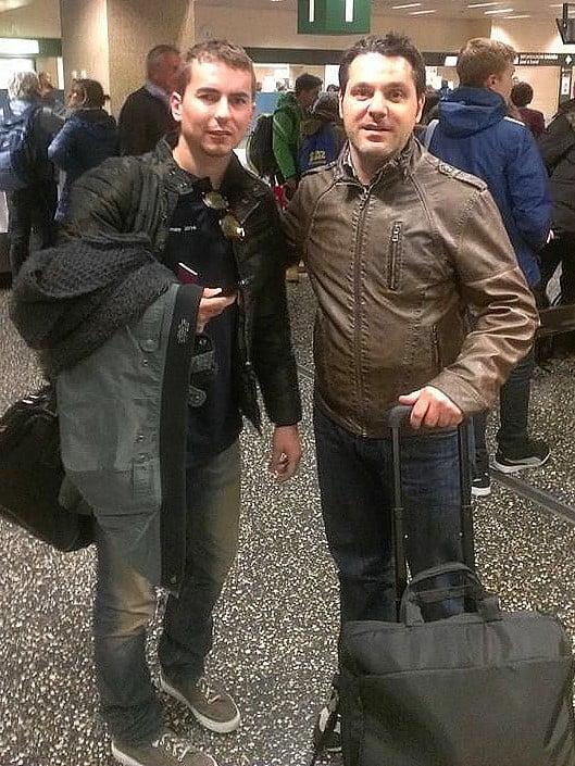 Io e Jorge Lorenzo