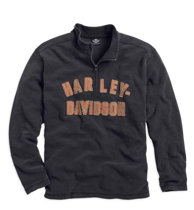 Harley-Davidson Motorclothes Genuine Classics ¼ Zip Shirt