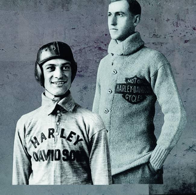 Le storiche maglie da cui nasce la Harley-Davidson Motorclothes Genuine Collection