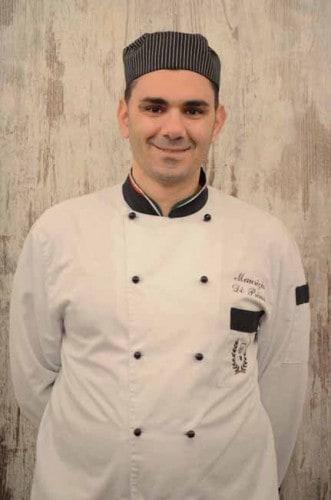 Lo Chef del ristorante La Nassa Osteria di Mare, Maurizio Di Prima