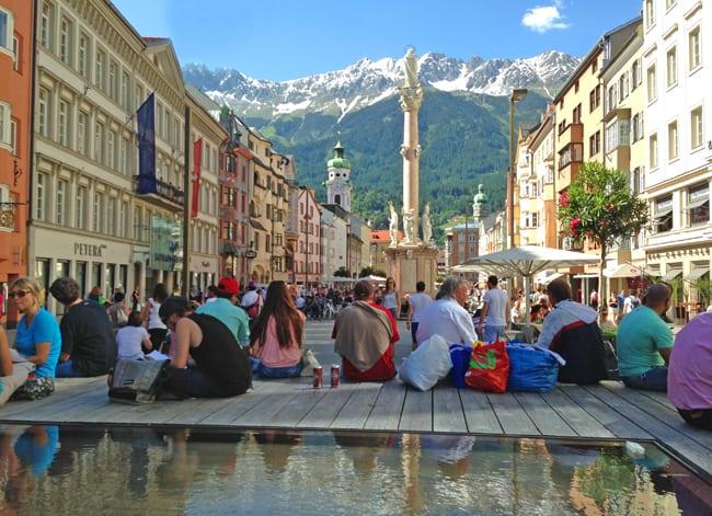Weekend cool a Innsbruck