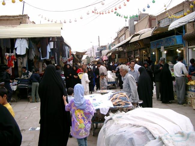 Iran Kerman mercato