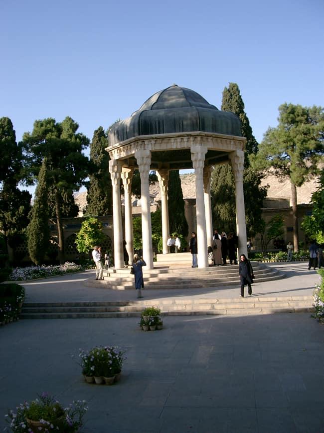 Iran Tomba poeta Hefez