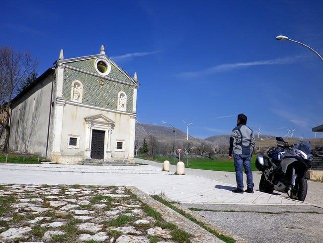 Lazio e Abruzzo in moto