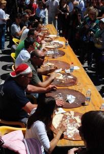 LA FESTA DELL FOCACCIA DI RECCO  - 1° Giugno 2014