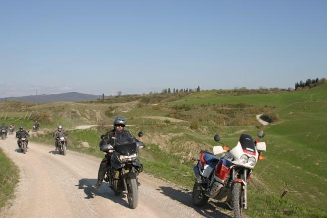 L'Eroica: prestare attenzione per traffico intenso