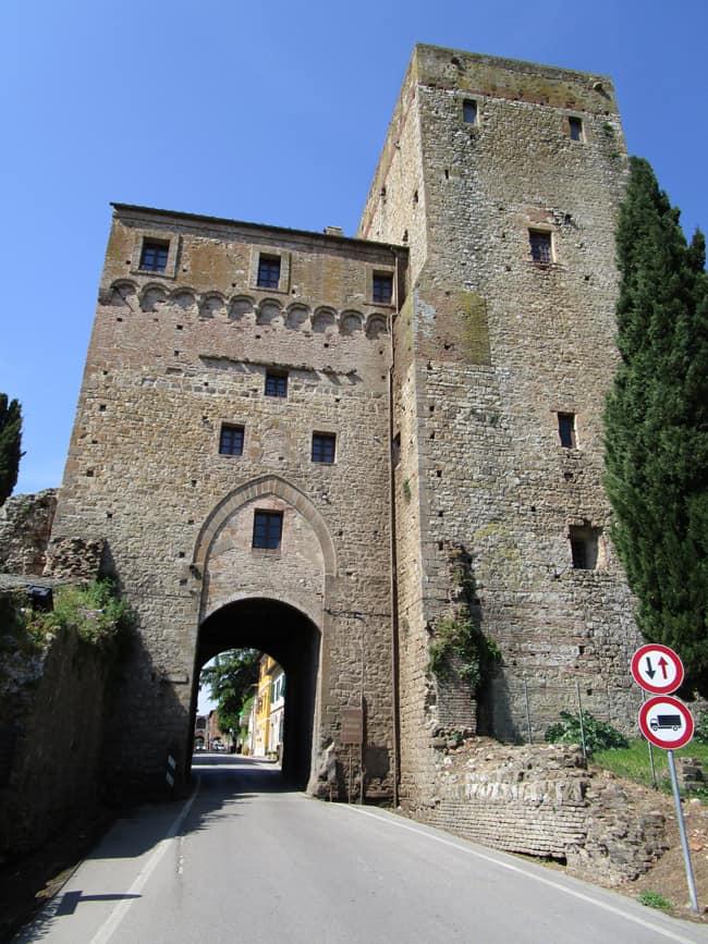 Paganico, la Porta Senese