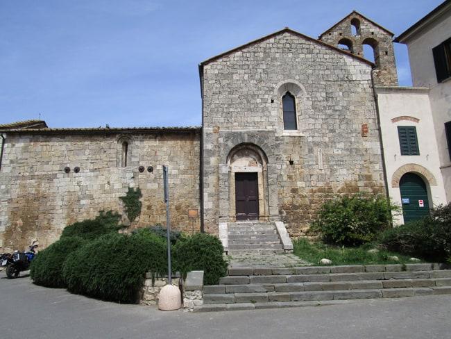 Magliano in Toscana il centro storico