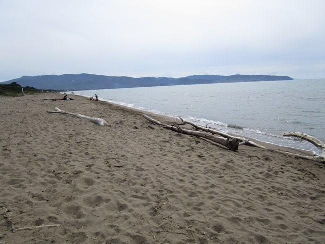 La spiaggia della Giannella