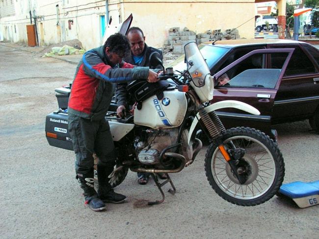 Guinea Bissau Rescue 2014: in moto tra Sahara e Marocco. Guai alla R 80