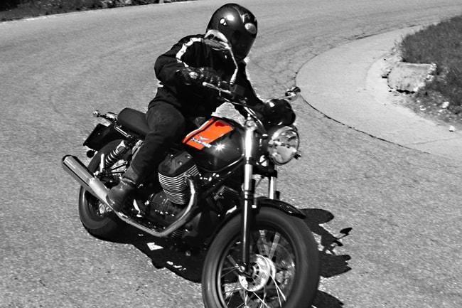 Prova Moto Guzzi V7 2014 La Special