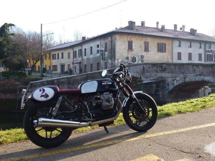 Cafè Racer a Milano con B.I.G. (Built In Garage)