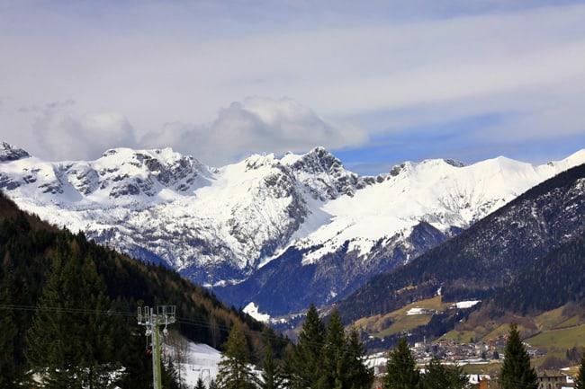 La Val di Scalve d'inverno