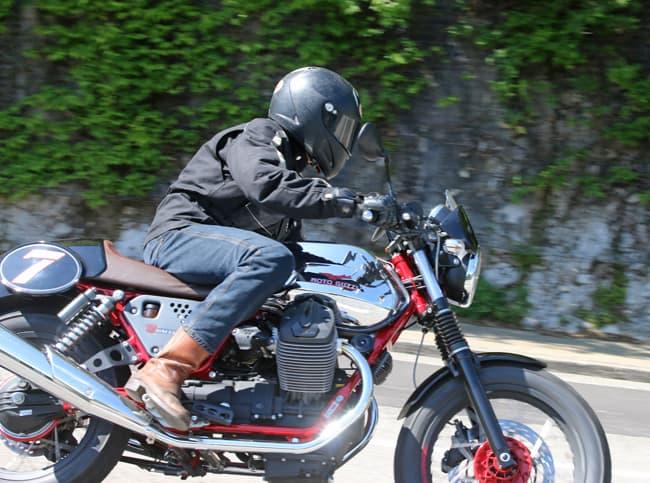 Prova Moto Guzzi V7 2014 La Racer
