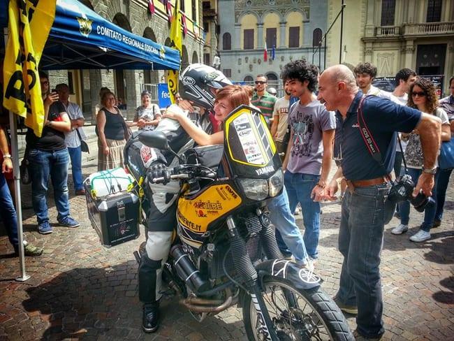 In moto in Giappone, Sognando Oriente - I° Report  La partenza