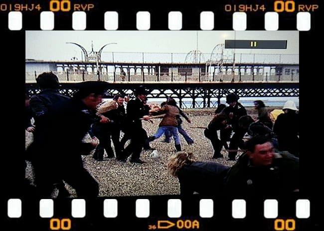 Gli scontri coi poliziotti davanti al Pier, rievocati dal film Quadrophenia