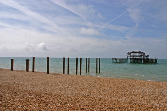 Il west pier di Brighton