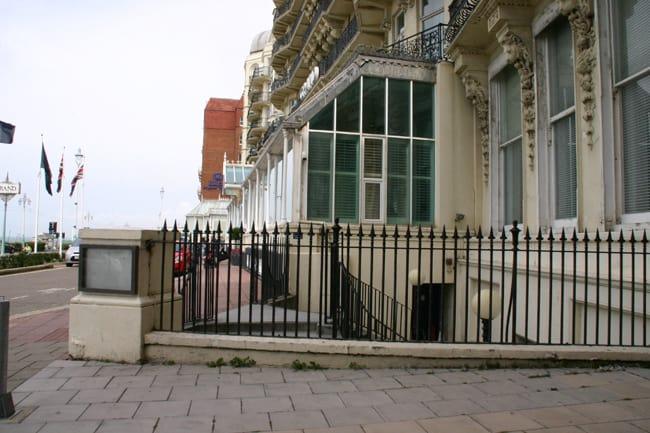 Il luogo dove Ace, il leader dei Mod, interpretato nel film Quadrophenia da Sting, lasciava la sua Vespa.