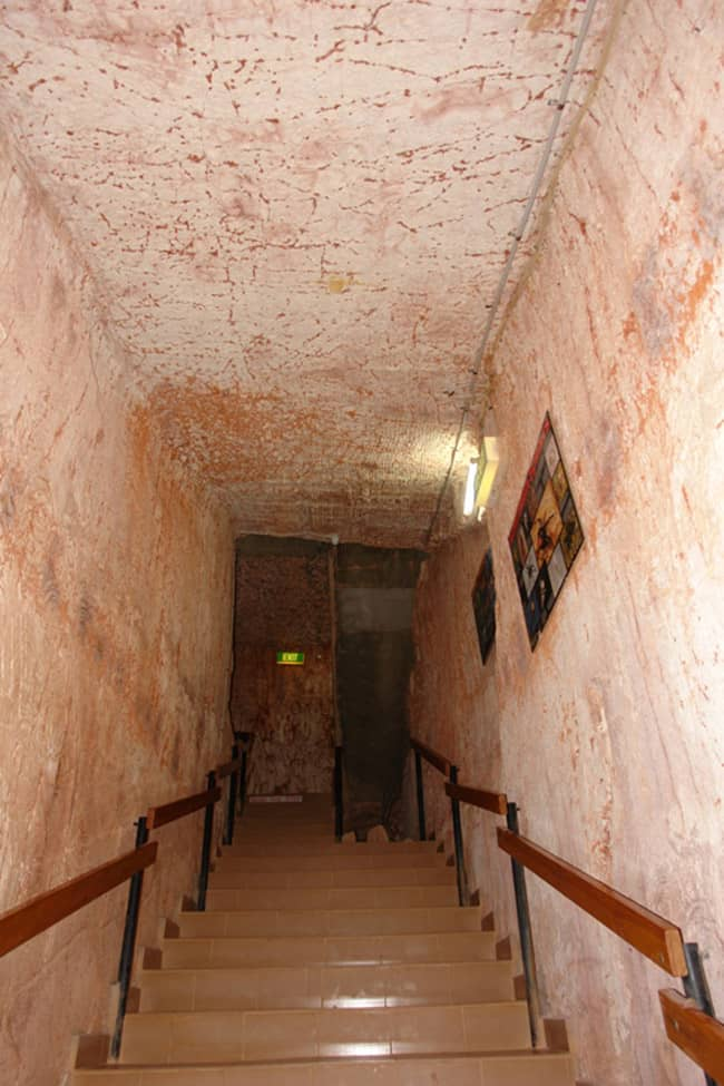 Albergo nelle cave di Opale Coober Pedy