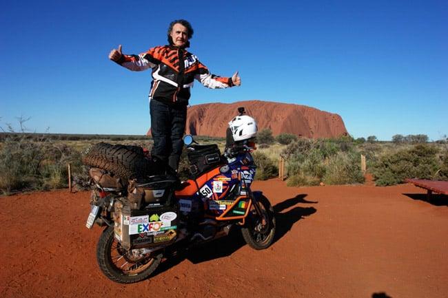 L'Australia in moto: Ayers Rock