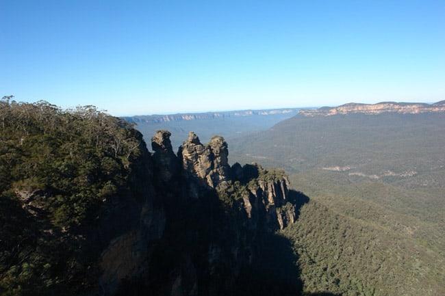 Australia, Blue Mountains le Tre Sorelle
