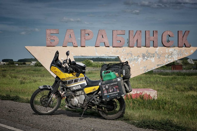 Siberia in moto: le foto di Francesco Ristori