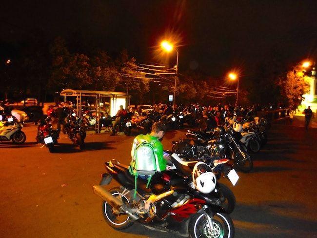 bikers a Mosca 2