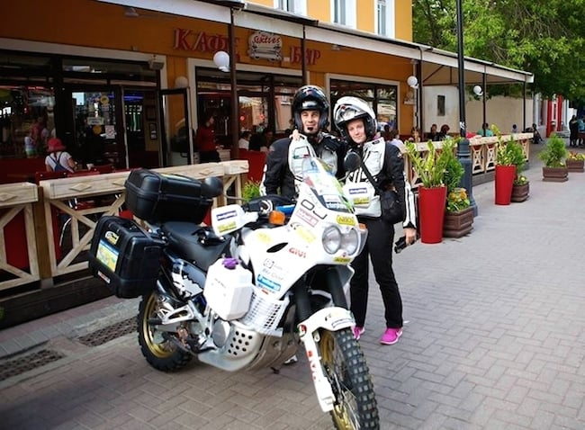 Tommaso e Francesca a Mosca