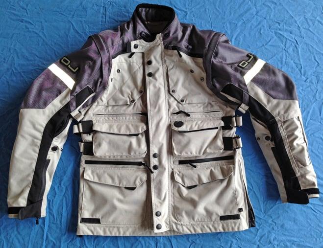La giacca OJ Desert EVO da noi utilizzata per più di 1 anno