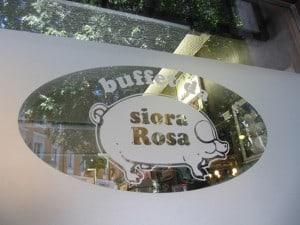 Ristorante Siora Rosa - Trieste