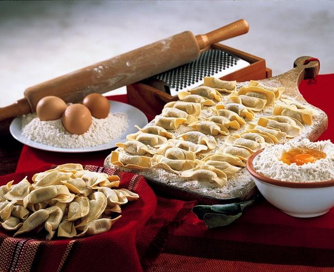 I Casonsei sono condivisi nella tradizione di Brescia e di Bergamo
