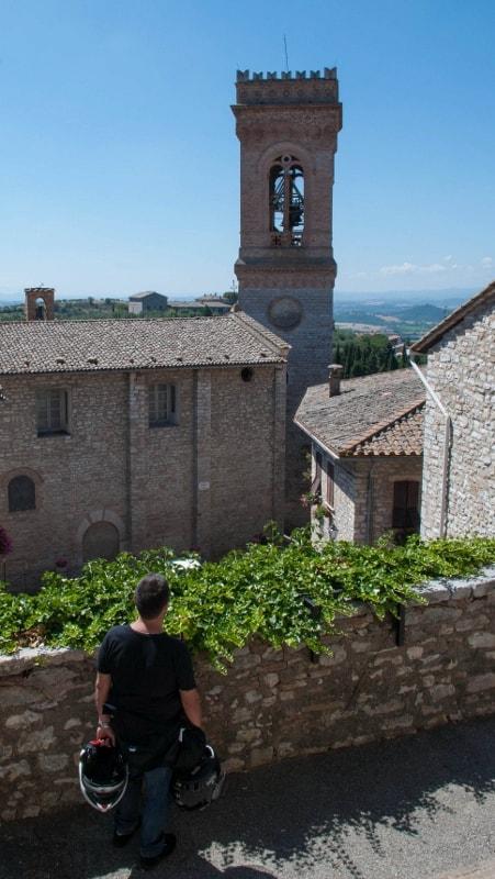 La chiesa di Santa Maria Assunta a Corciano