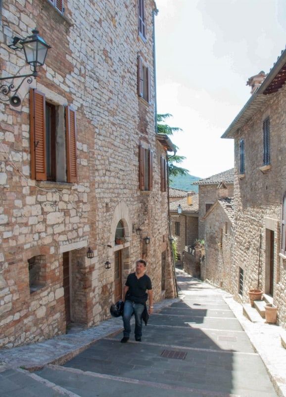 A passeggio per i vicoli di Corciano