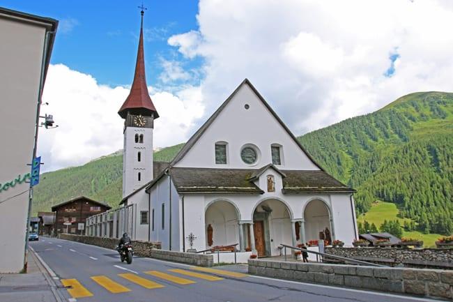 Numerose le chiese barocche nell'Obergoms