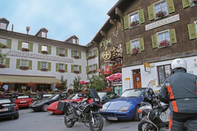 In estate l'Obergoms diventa meta per miglaia di motociclisti